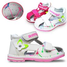2016 sommer 1 paar Baby Orthopädische Sandalen Mädchen Schuhe, Super Qualität Kinder/Kinder Weiche Schuhe(China (Mainland))