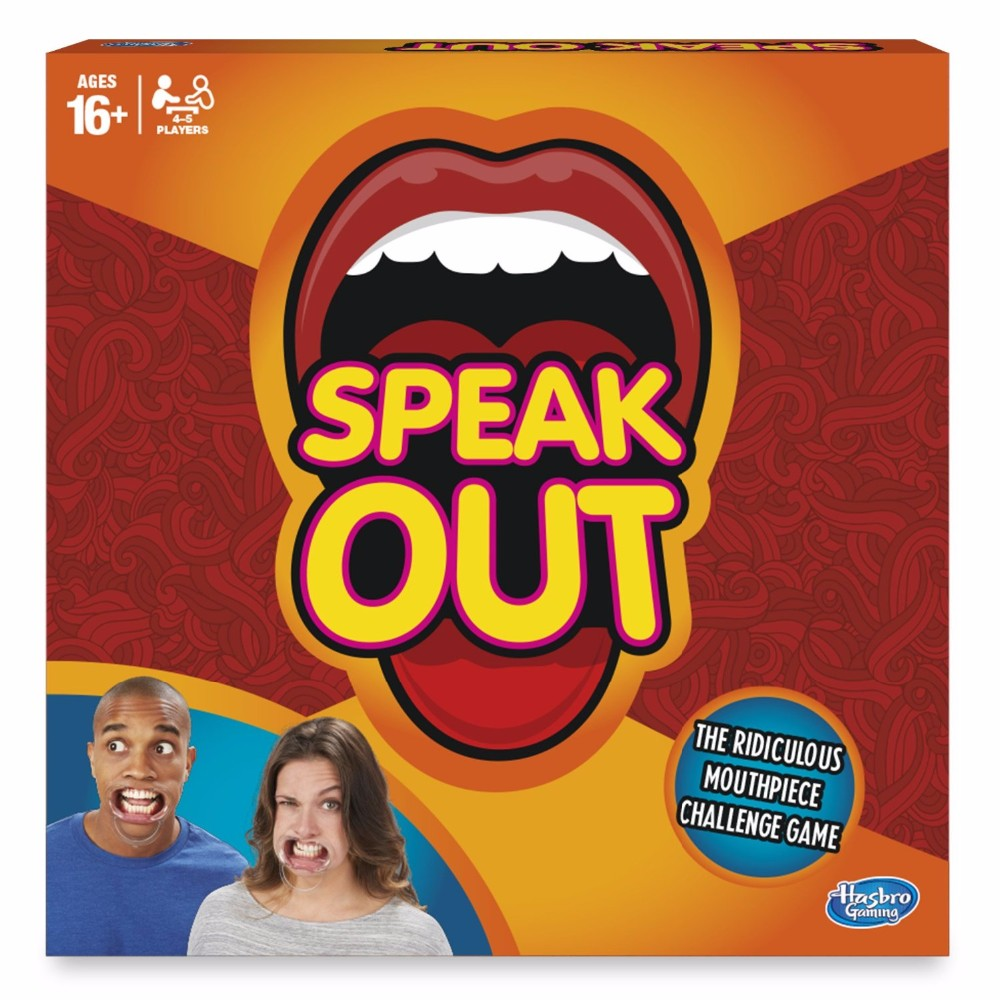 Speak out Game baby toys interesting party board game for Halloween Christmas Gift for Kids Family KTV Party Game(China (Mainland))