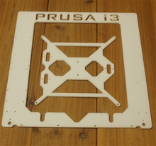 Prusa I3 Hephestos 3D printer white arylic laser cut frame kit  white color Single Sheet Framebase 3D Printer DIY 6 mm