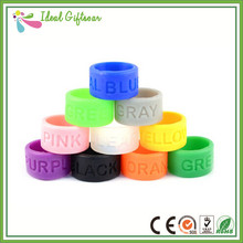 2015 wholesale fashion style silicone thumb ring, rubber figner rings, custom silicone finger rings(China (Mainland))
