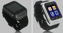 Nouveaux produits 2015 chine puce bluetooth montres android 4.4 3 g mobile montre téléphone avec wifi