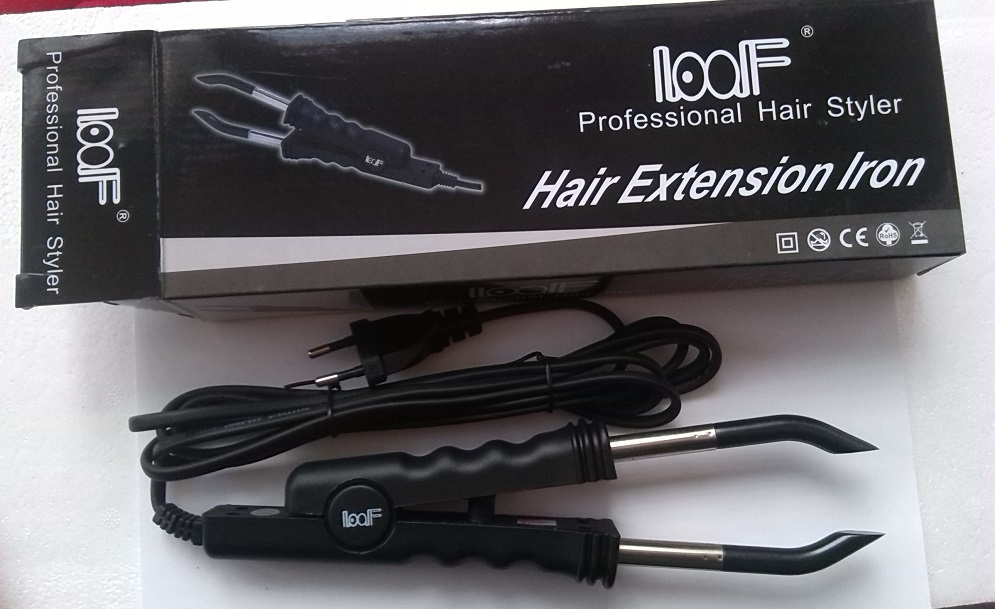 Loof Fusion Hair Extension Iron Keratin Bonding Tools Fusion Heat Connector(China (Mainland))