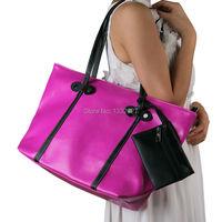 конфеты цвет 2015 женщин Пу кожа сумочка плеча мешки женщина большой случайные desigual рука мешок дизайнер сумки высокого качества
