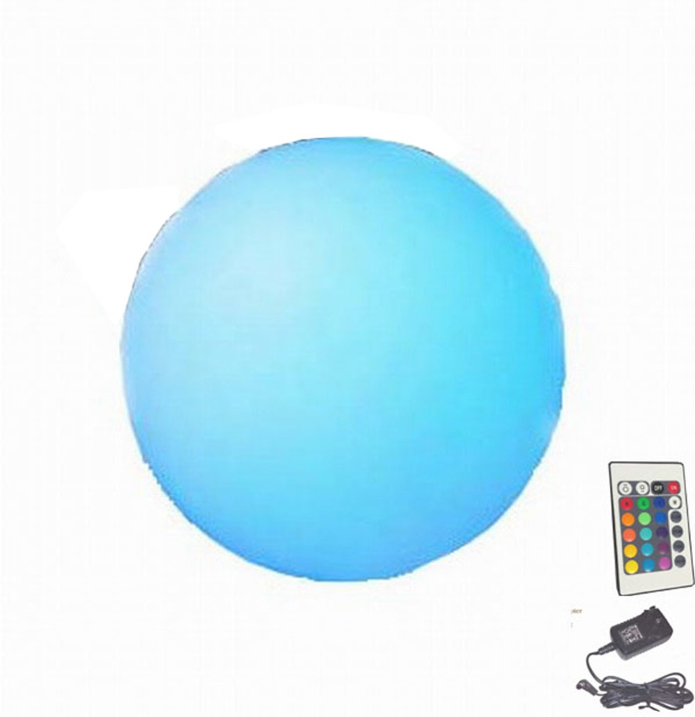HOT Sale D40CM RECHARGEABLE LED BALL sphere LAMP with REMOTE -CHRISTAS NEW YEAR THNAKS GIVING  in GARDEN yard bar evening party<br><br>Aliexpress