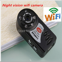 New arrival Q7 WiFi Camera Mini DV 480P DVR Wireless IP Camera Hidden Camcorder Video Recorder Camera Infrared Night Vision md81(China (Mainland))