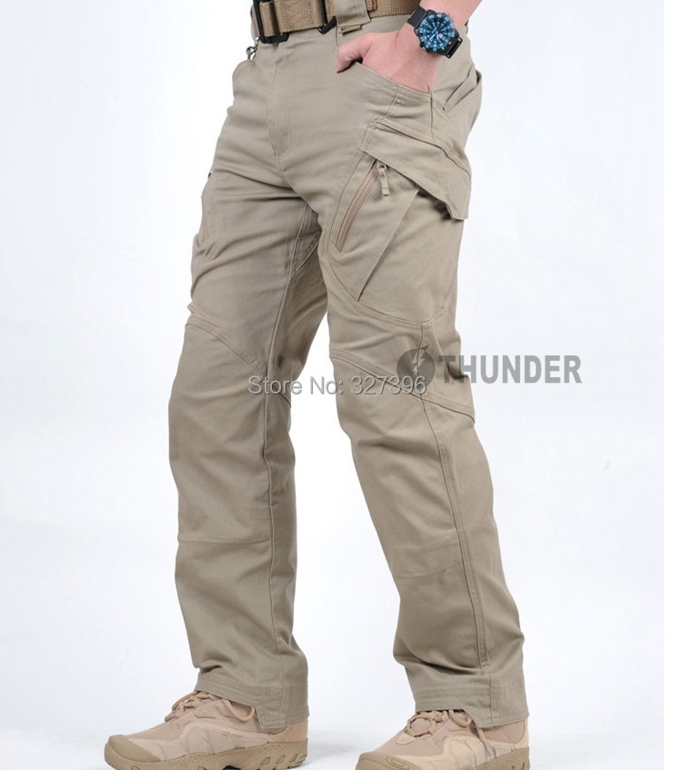 TAD IX9 Militar Tactical Cargo Outdoor Pants Men Combat SWAT Army Training Military Pants Hiking Hunting Outdoors Sport Trousers(China (Mainland))