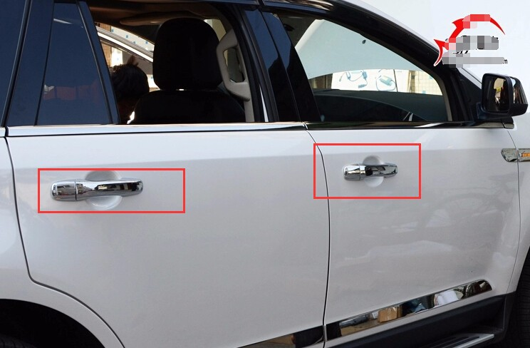 Fit For Ford Edge   Only Without Smart Key Hole Item Description Condition Brand New Material Plastic Included Pcs A Set Easy Installing