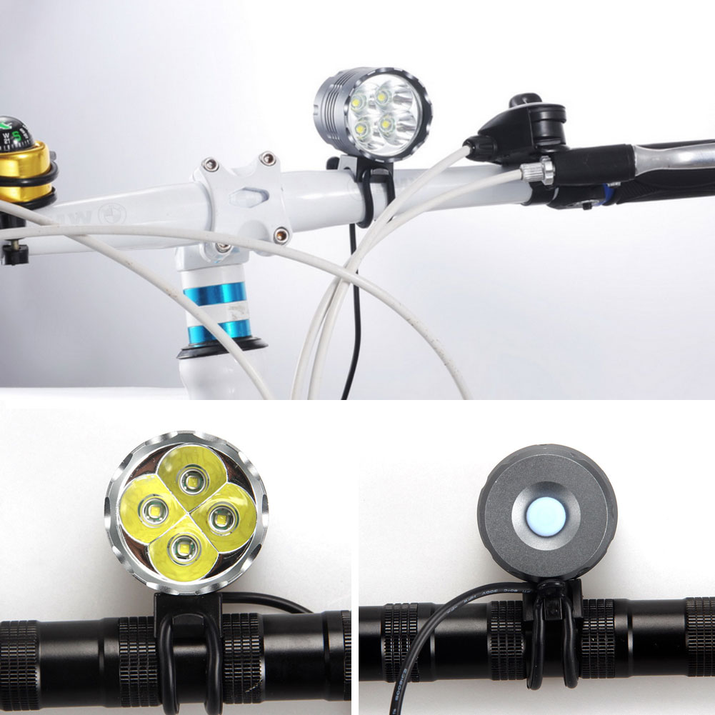 7000Lm 4x CREE XML T6 LED Bicycle Lamp Bike HeadLight Headlamp Battery Charger Bicycle Lights Cycling<br><br>Aliexpress