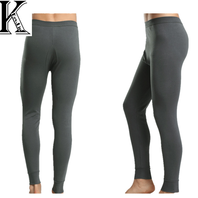 2015 Winter Mens Warm Thermal Underwear Mens Long Johns Sexy Thermal Underwear Thick Cotton Long Johns For Man