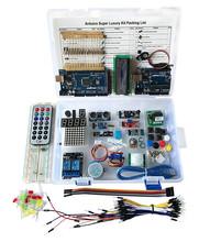 US Super Starter Kit For Arduino UNO R3 &Mega2560 Board for LCD Servo Motor Relay(China (Mainland))