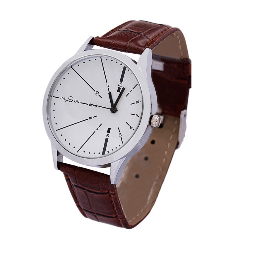Mens Watches Brown Leather Band Images With