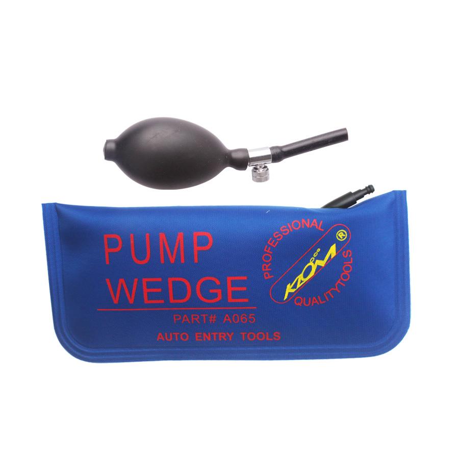KLOM PUMP WEDGE Airbag New for Universal Air Wedge ,LOCKSMITH TOOLS lock pick set.door lock opener bump key padlock tool blue(China (Mainland))