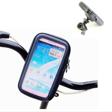 "Universal Phone Bag For Samsung Note 2 II I9220 N7100 5.5"" Bike Motorbike Motorcycle Bicycle Handle Holder Waterproof Case Bag(China (Mainland))"