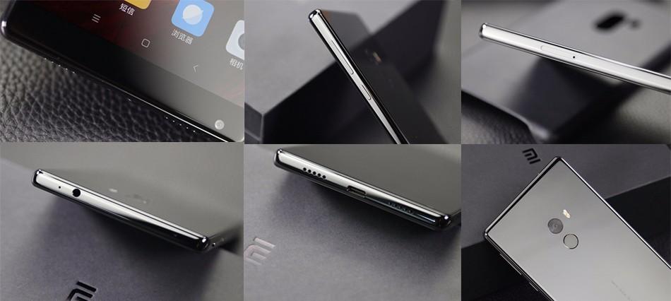 "Pre Order Xiaomi Mi Mix Pro Smartphones 6.4"" 6GB RAM 256GB ROM 4400mAh Snapdragon 821 6.4″Full Screen 2040x1080P Mobile Phones"