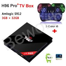 Buy 3GB RAM 32GB H96 Pro Plus + Amlogic S912 Octa-core Android 6.0 TV BOX 4K 1000M 2.4/5.8G WiFi BT4.0 Kodi Smart Media Player CSA93 for $76.90 in AliExpress store