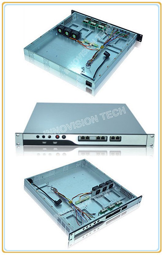 Compact 1U rackmount chassis NC1U-450 with Stylish Aluminum front-panel server case<br><br>Aliexpress
