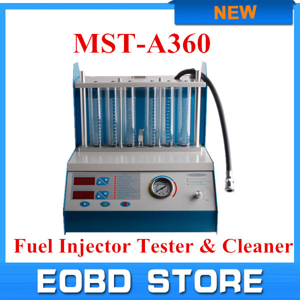 Free Shipping Fuel Injector Tester and Cleaner MST-A360 Car Washer Nice Quality Car Injector Cleaner And Tester(China (Mainland))