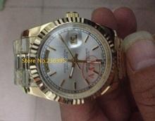Papeles que hombres relojes mecánicos 36 mm zafiro relojes para hombres relojes de A1