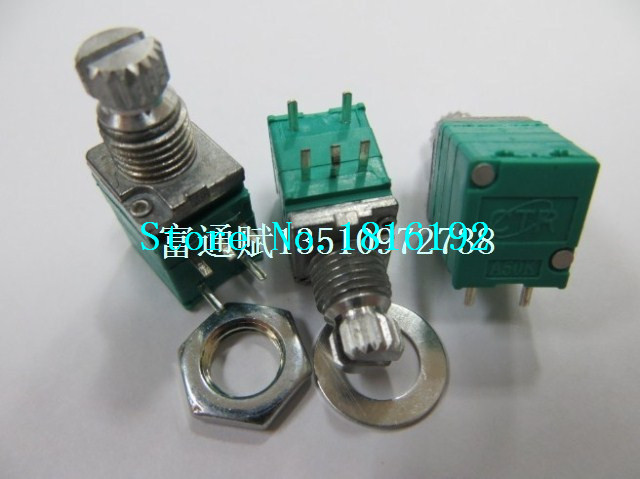 Crown units produced CTR precision potentiometer R097 Single volume potentiometer with switch A50K-10MM rachis(China (Mainland))
