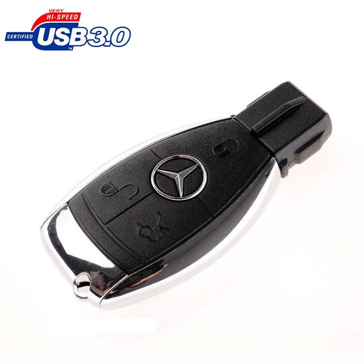 Promotions Mercedes Benz Car Key Usb Pen Drive 64GB 32GB 16GB 8GB Usb 3.0 Flash Drive Gift Box Packing Memory Stick Pendrive(China (Mainland))