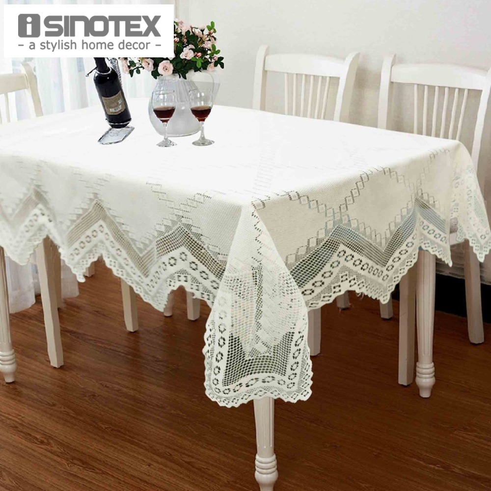 popular knit lace tablecloth pattern buy cheap knit lace tablecloth pattern lots from china knit. Black Bedroom Furniture Sets. Home Design Ideas