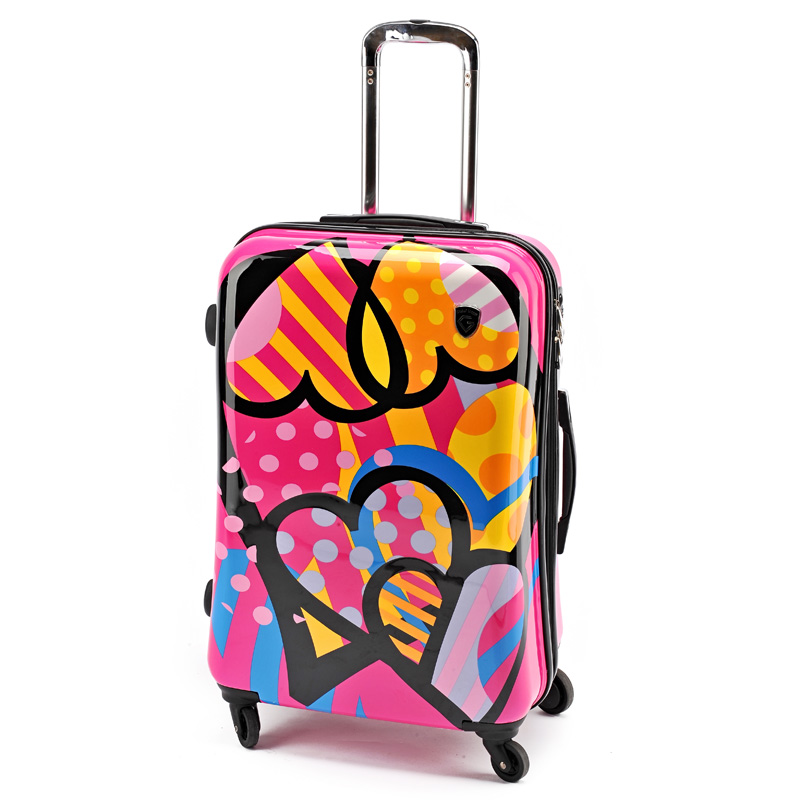 Fashion Women Travel Suitcase ABS+PC Universal Wheels Trolley Luggage Bag 19 inch 24 28 inches Rolling - Lzahua Bags Store store