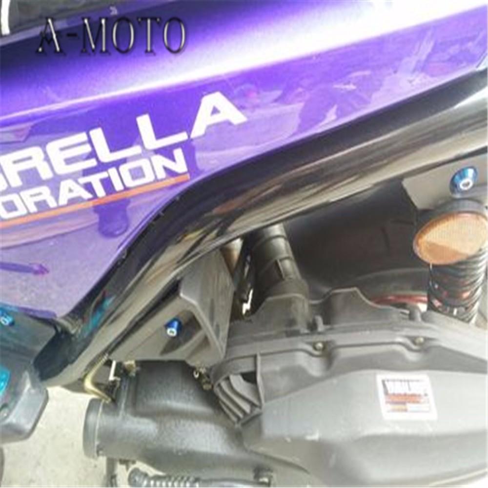 Купить Мотоцикл ветрового обтекателя винта болт винт ДЛЯ KAWASAKI NINJA250 EX250 NINJA300 NINJA400 NINJA650 ZX-6R ZX-10R ZX-12R ZX-14R