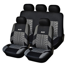 AUTOYOUTH Hot Sale Polyester Fabric Universal Car Seat Cover Fit Most Cars with Tire Track Detail Car Styling Car Seat Protector(China (Mainland))