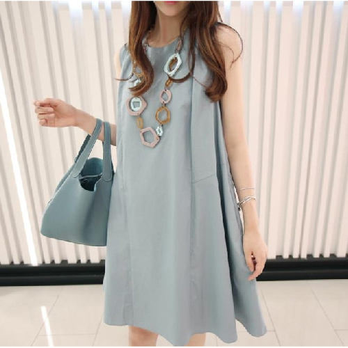Summer Maternity Linen Dresses Clothes Plus Size Pregnancy Wear Sundress Clothing Premama Vestidos Korea Cheap Pregnant Dress(China (Mainland))