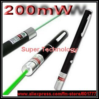 Can Burn Match !!! Class 3B REAL 200mW 532nm Green Beam laser pointer pen laser pen