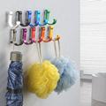 Decorative Aluminum Candy Color Wall Hooks Towel Hanger 9 colors Clothes hanger Metal Towel coat Robe