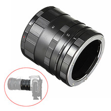 Metal Macro Lens Extension 3 Ring Tube Adapter For Sony Alpha Minolta AF MA A900 A330 A300 A37 A77 A99 A580 A200 A100 Mount DSLR