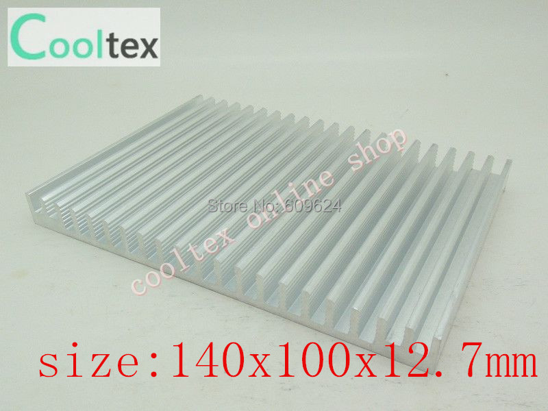 140x100x12.7mm Aluminum HeatSink for Chip CPU GPU VGA RAM LED IC radiator, COOLER,cooling(China (Mainland))