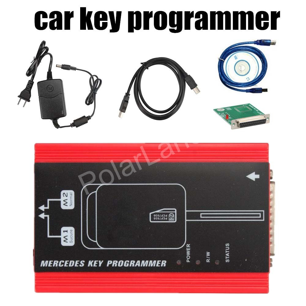 for Mercedes for Benz key programming device for Mercedes A-klasa E210 ML320 W140 Gelenvagen with USB cable program the key(China (Mainland))