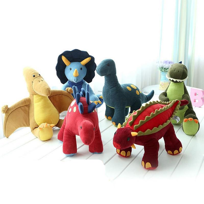 high quality big size Brinquedos Stuffed Plush Animals dinosaur family boys Toys Baby gift birthday present Dinosaur plush toys(China (Mainland))
