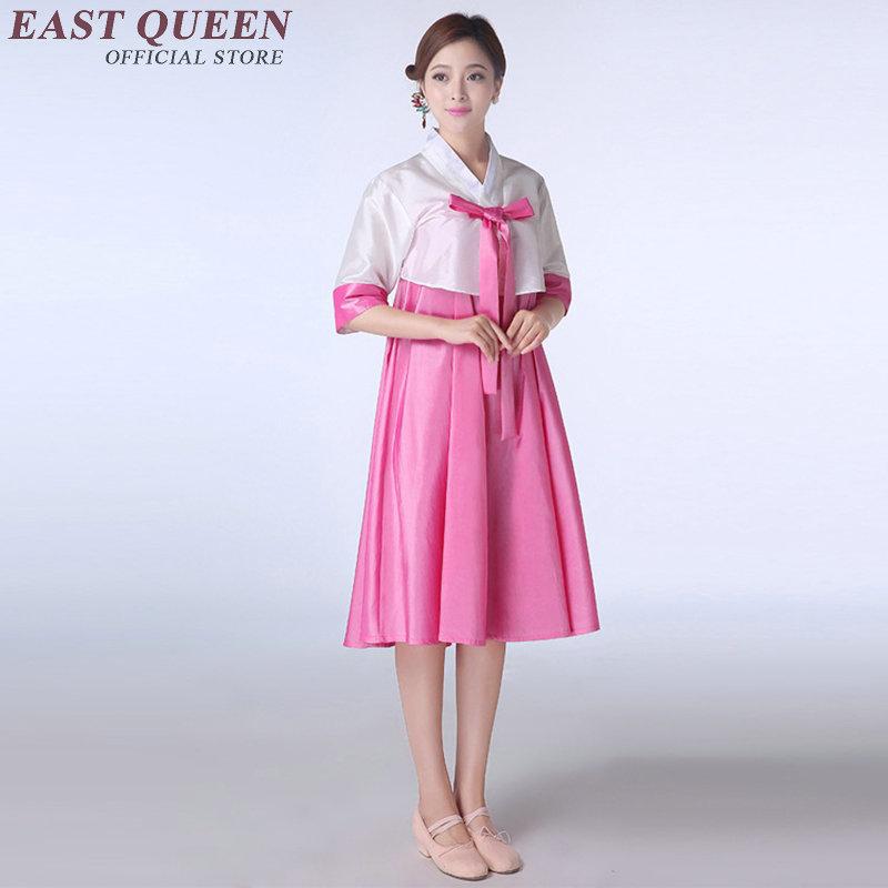 Hanbok coreano nuevo diseño coreano hanbok vestido de verano vestidos cortos estilo tradicional coreano ropa envío gratis AA471(China (Mainland))