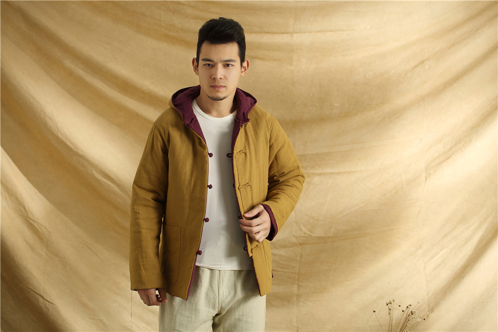 Здесь можно купить  2015 Autumn and winter cotton linen men