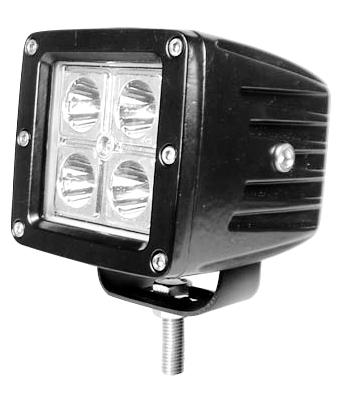 hot sell 12v led auto light 12v 12w led pod light for Jeep, suv, pickup trucks(China (Mainland))