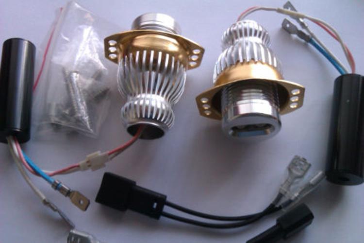 Здесь можно купить  Car Styling Accessory New 2014 High Power Bright 10W 2Pcs 12V CREE LED Angel Eyes Maker Lights 05-08 E90 E91 325 328 330 parking  Автомобили и Мотоциклы