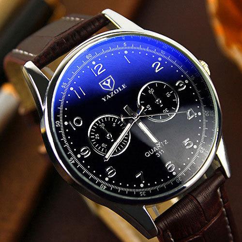 YAZOLE Hodinky 2017 Мужские Часы Лучший Бренд Класса Люкс Известный Кварцевые Часы Мужчины Часы Мужчины Наручные Часы Кварцевые часы Relogio Masculino