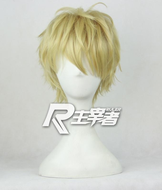 ONE PUNCH-MAN Genos Halloween cosplay wigs(China (Mainland))