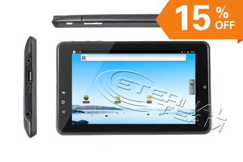 Witstech A91 GPS Tablet PC TI ARM CORTEX A8 1GHz Bluetooth 1024x600 HD Screen Camera WIFI
