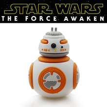 Garunk Usb flash drive Star wars bb-8 u disk 32g Pen drive 16g Pendrives 8g Cartoon creative Flash card Memory stick drive(China (Mainland))