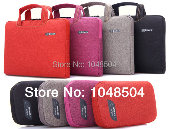 2014 New Denim Laptop Sleeve Bag Case Carrying Handle Bag For 13 13.3 14 14.1 15 15.4 15.6 Inch Apple Dell Notebook Netbook PC(China (Mainland))