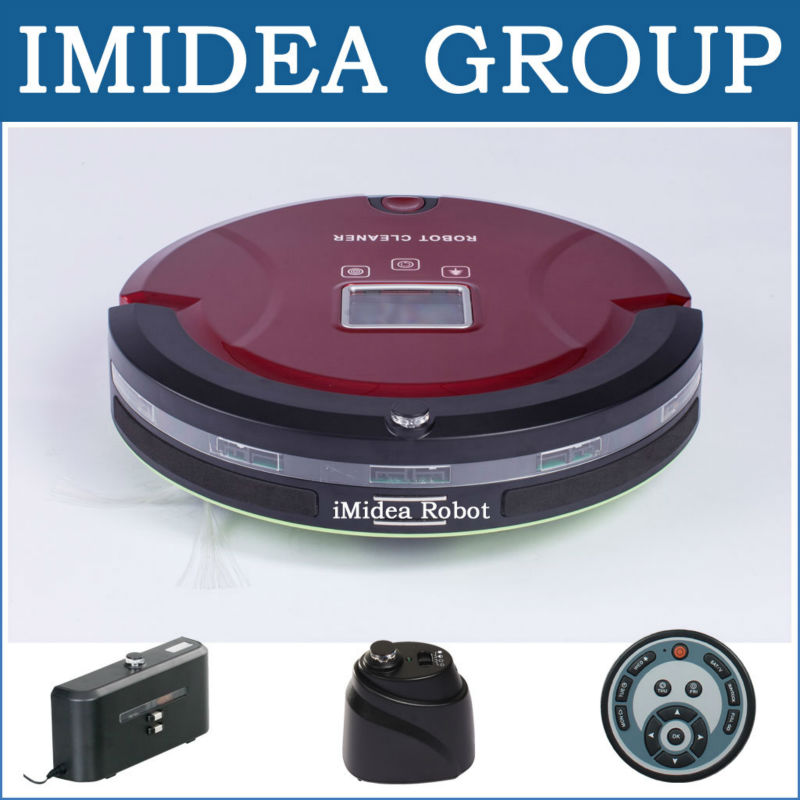 5 In 1 MultiFunctional High-Quality Robotic Vacuum Cleaner (Avoid Falling Down,Avoid Bumping,Schedule,Auto Charging) Free by DHL