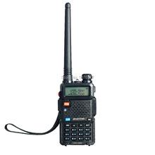 Dual Band Two Way Radio baofeng UV 5R Walkie Talkie 5W 128CH UHF VHF FM VOX Pofung UV-5R ham radio Dual Display for car(China (Mainland))