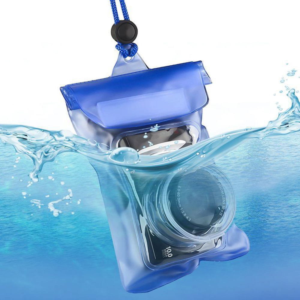 Free Shipping Cheap Waterproof SLR Camera Underwater Housing Case Pouch Dry Bag For Canon(China (Mainland))