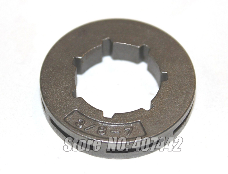 Chainsaw sprocket rim big 3 8 7 teeth