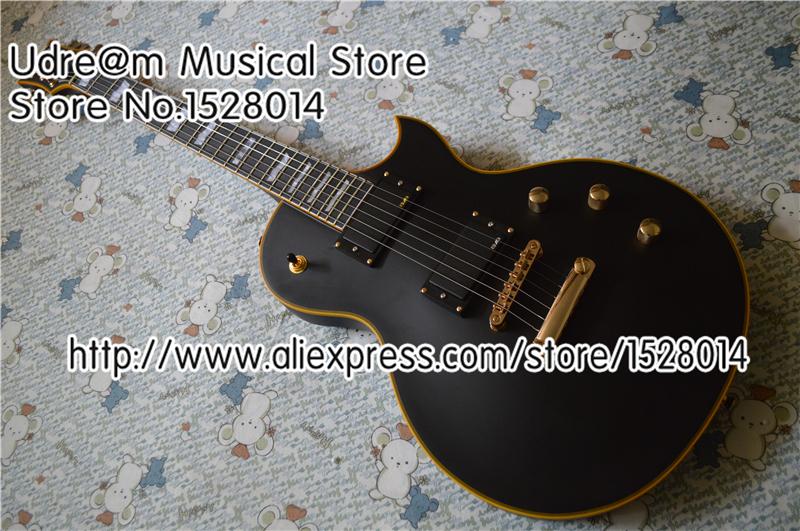 Hot Selling E-II Eclipse ESP Electric Guitar Ebony Fretboard Battery Box on Back In Stock(China (Mainland))