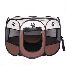 600D Oxford Dog Carrier Dog Playpen Outdoor Folding House For Dog Cat Fence Kennel Dog House Portable Pet Cage Supplies MPC151(China (Mainland))
